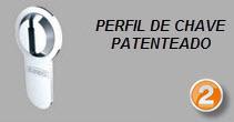 Perfil de chave patenteado até 2023
