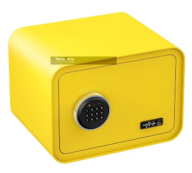 Cofre de segurança Basi Amarelo