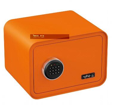 cofre de segurança Basi cor de laranja