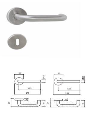 puxador inox tecnoporta 8003