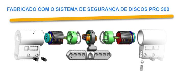 Cilindro electrónico Tokoz é baseado no sistema de segurança mecânico Tokoz pro 300