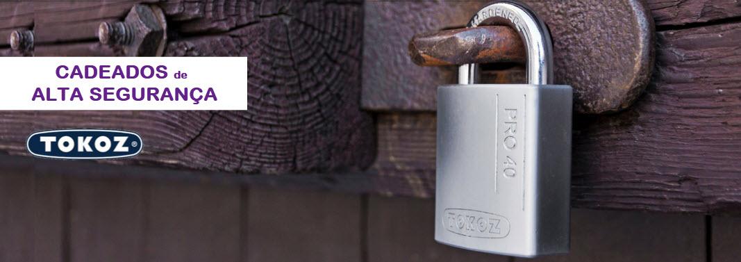 Veja cadeados de alta segurança Tokoz