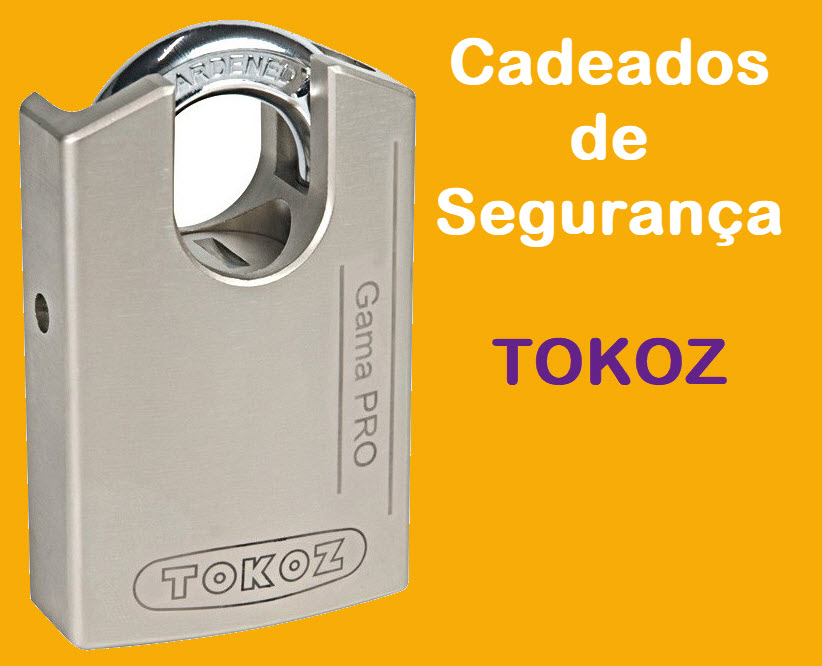 Cadeados de aço Tokoz