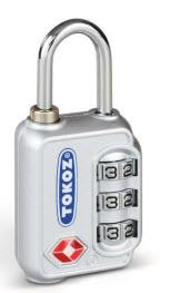 cadeados de segurança tokoz modelo TSA para todos os tipos de malas de viagem