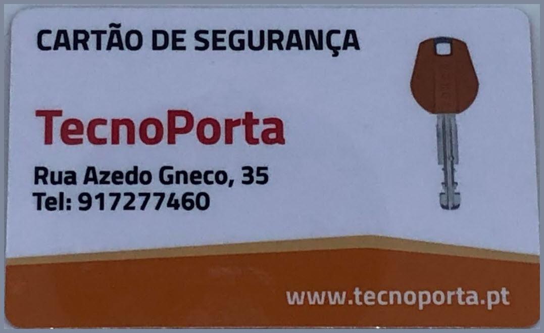 Cartão de Segurança Tokoz-Tecnoporta 2019
