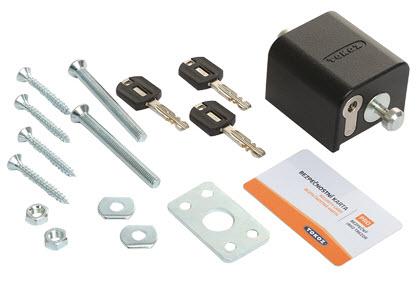 fechadura de segurança tokoz safety box 2 detalhes da embalagem