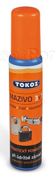 Óleo lubrificante tokoz 3 em 1
