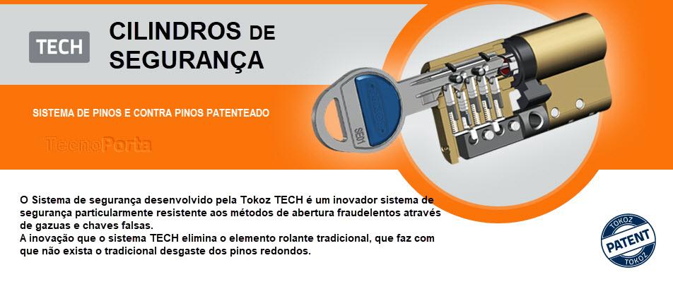 Cilindros de segurança Tokoz modelo TECH