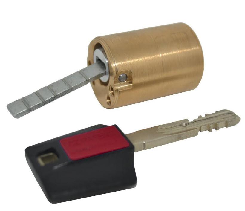 Cilindro fixo para fechaduras eléctricas Cisa