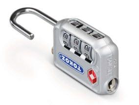 viagem com mais segurança com cadeados tokoz tsa