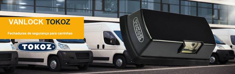 VANLOCK cadeados de alta segurança para carrinhas e automóveis