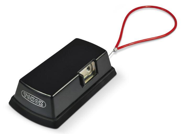 vanlock de cor negro com sistema pro 300 e cabo de no interior