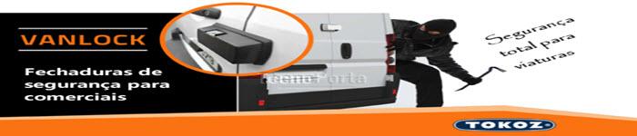 Fechaduras de alta segurança suplementares para todos os tipos de carrinhas comerciais