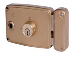 Fechadura Ucem 4125f com chave e puxador