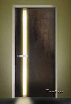 Portas Blindadas com iluminação