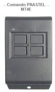 Comando para automatismo da marca Prastel modelo mt4e