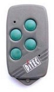 Comando Ditec 4 botões frequência 40.685 Mhz