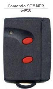 Comando para automatismo da matca Sommer modelo S4050