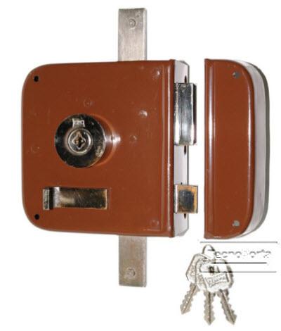 Fechadura 2 trancas CRC referencia 792/m/249/01