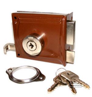 fechadura crc com chaves de 4 entradas