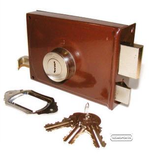 Fechaduras crc com chaves de 2 entradas