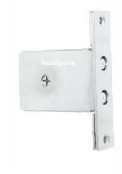 Fechadura com 3 chaves cruciforme