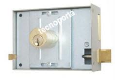 Fechadura glk modelo regulex com 3 chaves normais