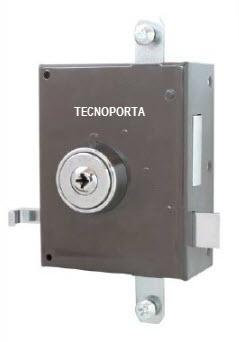 Fechadura glk 792 com 5 chaves de 4 entradas e 2 trancas verticais