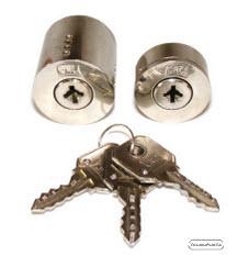 Cilindros CRC com chaves de 4 entradas