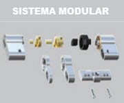 Fabricado com sistema modular