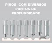 MÚLTIPLOS PONTOS DE ACABAMENTO NOS PINOS