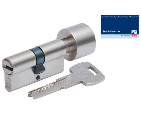 cilindro basi com chave de pontos e botão