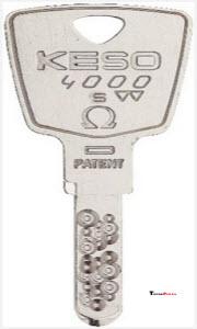 chave de pontos KESO 4000