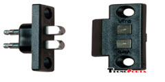 contactos eléctricos para passagem de corrente em todos os tipos de portas