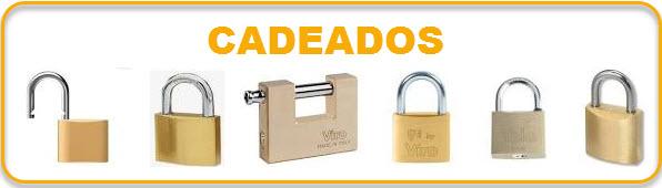 Cadeados para todos os tipos de finalidade, desde o mais simples para cacifos ate aos cadeados com alarme