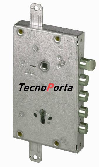 Fechadura Cisa modelo T12 para instalar em portas blindadas cisa, master ou portrisa