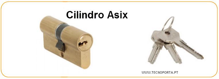 Cilindro Cisa modelo asix com 3 chaves de pontos