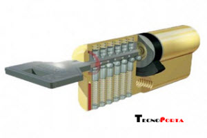 cilindro de segurança com 17 pinos