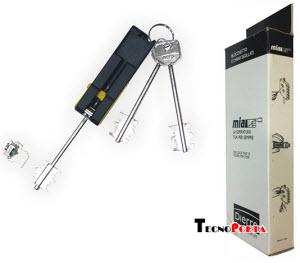 kit com 3 chaves de palhetão para uma simples troca de chaves em todos os modelos de fechaduras dierre ou atra