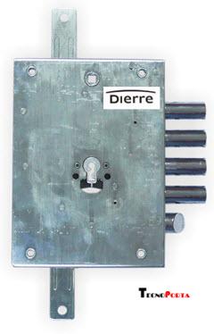 FECHADURA DIERRE para portas blindadas com sistema de cilindro