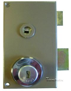 Fechadura Fichet com caixa vertical