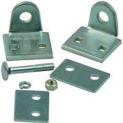 Acessórios fabricados em aço para completar os cadeados blindados Cisa