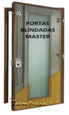 Portas blindadas Master