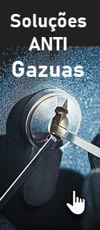 Temos soluções anti gazuas com cilindros patenteados até 2030