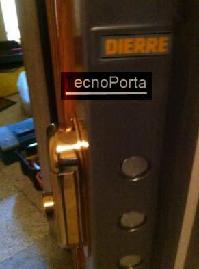 Escudete de maxima segurança para portas blindadas dierre