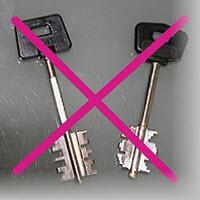 Por uma questão de segurança recomendamos a troca das suas chaves de casa