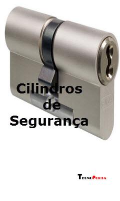 Cilindros de segurança para todos os tipos de fechaduras e portas