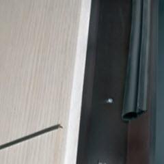 Borracha de isolamento para portas blindadas tesio modelo basic2