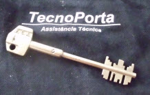 Chaves de serviço para fechaduras 8020 fca