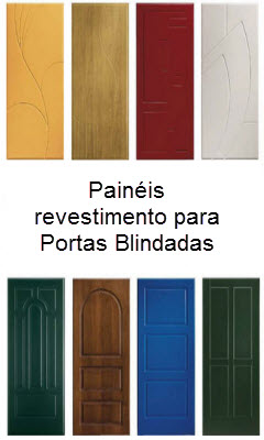 painéis decorativos para portas blindadas de todas as marcas